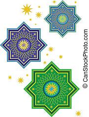 Islamic pattern - Stock Vector Illustration: Islamic pattern...