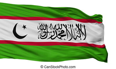 Islamic Renaissance Party Of Tajikistan Flag Isolated...