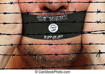 Islamic state censorship