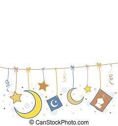 Islamic Symbols - Illustration of Islamic Symbols