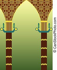 islamique, conception, architecture