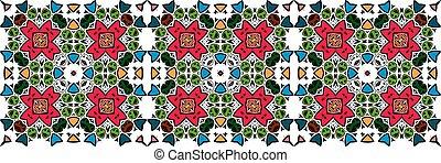 islamique, pattern., seamless