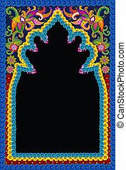 islamique,  Style, mosquée, cadre,  Photo