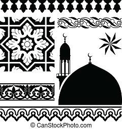 islamisch, muster