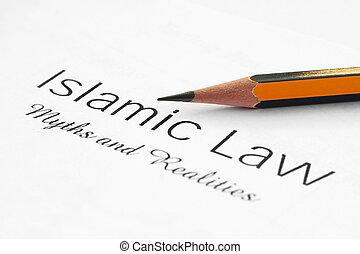 islamiske, lov