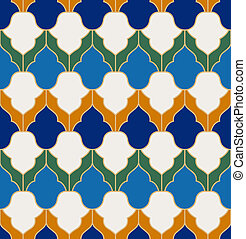 islamitisch, model, seamless, geometrisch