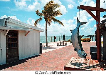 islamorada, Florida Keys - view of Islamorada, Florida Keys,...