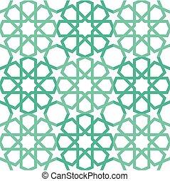 islamski, dekarstwo, próbka