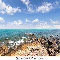 Island and sea. Summer background. Thailand