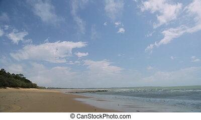 Island Beach And Sky, Lady Elliot Island
