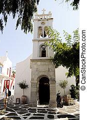 Island Church Detail