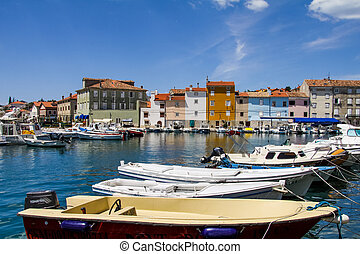 Island Cres in Croatia - Town Cres on the Island Cres, ...