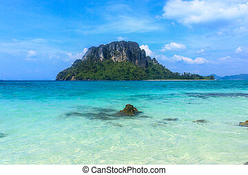 Island dream beach ,Tropical sea in Thailand