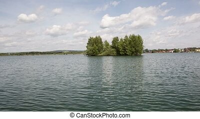 Island - island in the middle of the lake