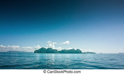 Island from a boat
