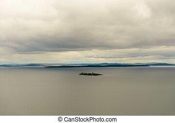 Island Georgian Bay, Ontario Canada