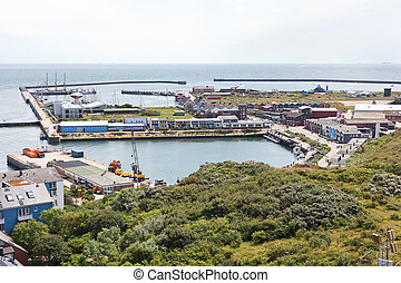 Island Helgoland in Germany