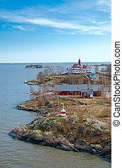 Island in the Baltic sea.