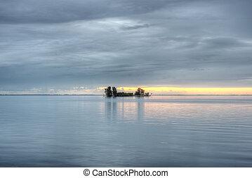 Island in Titusville, Florida