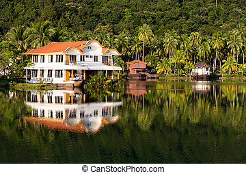 Island Koh Chang ,Thailand. - Exotic place in island Koh...