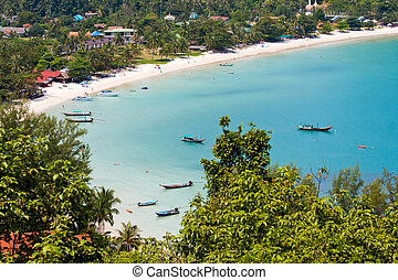 Island Koh Phangan, Thailand. - Tropical island Koh Phangan...