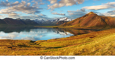 island, landschaftsbild