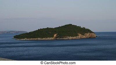 Island Lokrum Dubrovnik - Island Lokrum in front of ...