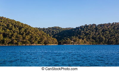 Island Mljet - National park on island Mljet, Dubrovnik...