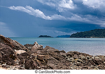 Island of Koh Chang in Thailand