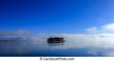 Island  panoramic landscape