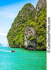 Island Phang Nga, Thailand - Beautiful scenery of Phang Nga...