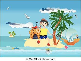 Island pirate,