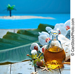 Island retreat spa treatment
