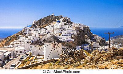 island., serifos, grecia, cyclades
