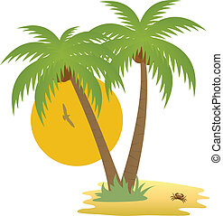 Island - Tropical island