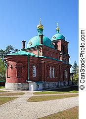 Island Valaam. Resurrection Skete - North Russia. Island...