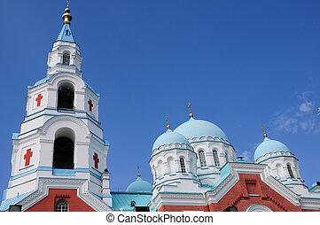Island Valaam. Spaso-Preobrazhenskiy cathedral - North...