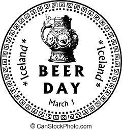 islanda, birra, giorno