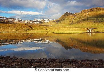 islanda, paesaggio