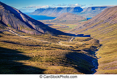 islandese, fiordi