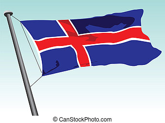 islandia bandera