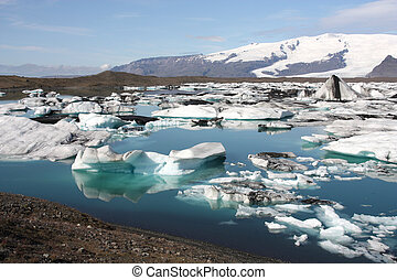 islandia, glaciares