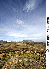 islandia, tierras altas