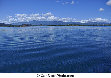 Islands and deep blue sea