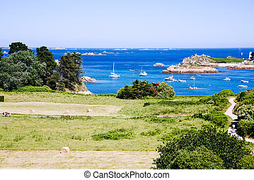 islands in Brittany, France