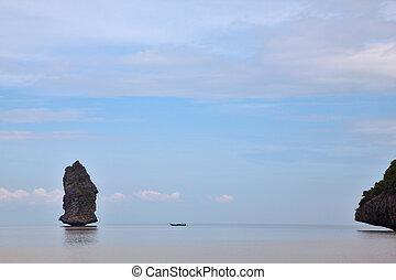 islands-rocks, 絵のよう