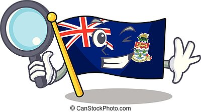 islas, caimán, 26, bandera