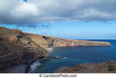 islas, gomera, canario, la