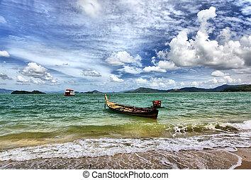 islas, mar de andaman