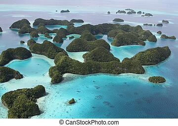 islas, palauan